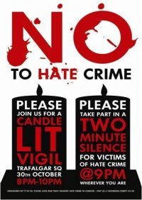 Say NO to Hate Crimes